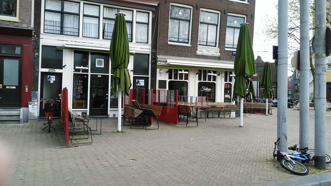 terrassen nieuwmarkt