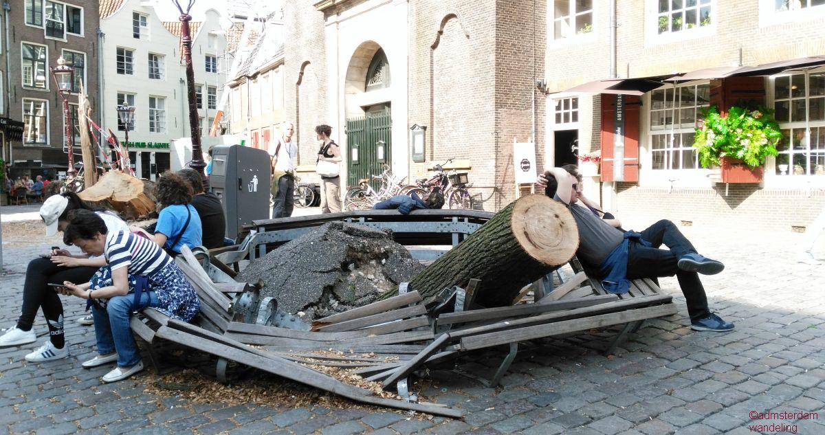 stormschade bij de oudekerk, 18 juni 2019